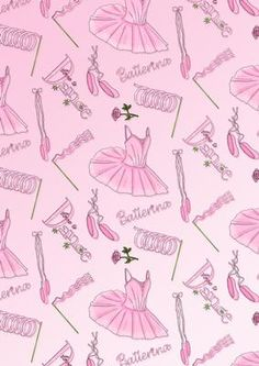 Ballet Background on Craftsuprint designed by Annie Lang - Annie Lang's themed repeated image background page can be used to make both digital or printable creations. Coordinates with Annie's Ballet Clipart (cup186539_1018) - Now available for download!