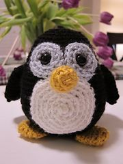 """Free pattern on Ravelry: Amigurumi Howie the Holiday Penguin pattern by Stacey Trock Check out the free e-book """"Beginner's Guide to Amigurumi""""  on the same pattern page."""