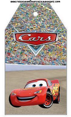 Imprimibles de Cars 2. Fiestas infantiles. ¡Disfrutando en mi hogar!