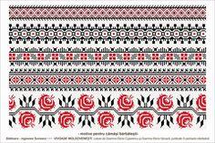 Romanian traditional motifs - MOLDOVA - Suceava, sat: Slatioara