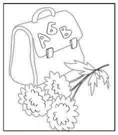 free printable backpack coloring pages for preschoolers