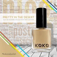 "Colors makes a desert prettier. Introducing the all new ""Pretty in the Desert"" f rom Bloggers Collection 1st Edition namrd after the blog Pretty in the Desert by @hello.aseya  #kokonailpolish  #polish #dubai #mydubai #dxbconnect @dxbconnect #saudi_trends @saudi_trends #UAE #dubainails @dubaiexpo2020ambassadors #dubaiexpo2020ambassadors #Emirates #instagram #aboutdubai #instafashion #instagood #instanail #koko #kokonail @dubaiexpo2020 #dubaiexpo2020 @aboutdubai @dubaiexpoUAE"