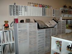 Ramblings from my Rubber Room: My Remodeled Stamp Room!