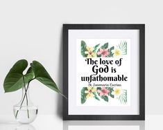 St. Josemaria Escriva Quote Print The love of God is | Etsy Saints, Saint Quotes, Wonder Quotes, Color Calibration, Keep In Mind, Quote Prints, Gods Love, Printing Process, Catholic