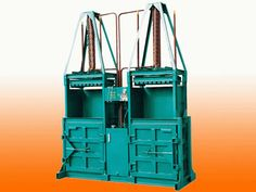 double chamber baler Mainly used for wast paper, and clothing, carton it can also to be used for compression packing of various materials including velveteen, cashmere, cotton seeds, towels, blankets, cloth, qults, bags and other soft materials.