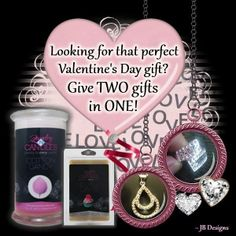 Valentine's Day is only about 10 weeks away. Visit my store at https://www.jewelryincandles.com/store/monavigneau for that unique gift. 2 Gifts in 1