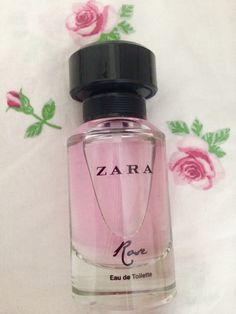 ZARA perfume rose elegantly girly ! Pink Rose love pink