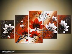 3 Canvas Paintings, Multi Canvas Painting, Multiple Canvas Paintings, 3 Piece Canvas Art, Canvas Wall Art, Floral Wallpaper Phone, Magnolia Paint, Foil Art, Unique Wall Art
