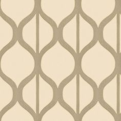 Shand Kydd Gray Strippable Non-Woven Prepasted Classic Wallpaper
