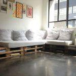 cuscini seduta divani in pallet