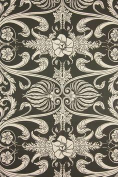 "Vintage Wallpaper - ""Mayfair"" by Thomas Strahan (pre-1975)"