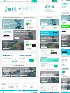 Responsive Webdesign - UI - Digital - Bouygues