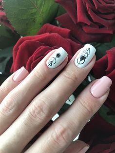 Neon Nails, Cute Acrylic Nails, Swag Nails, Cute Nails, Stylish Nails, Trendy Nails, Triangle Nails, Sassy Nails, Cute Nail Art Designs