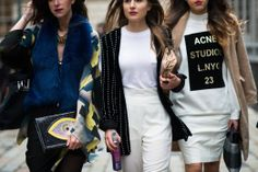 On the Streets of London Fashion Week Fall 2014 - London Day 2
