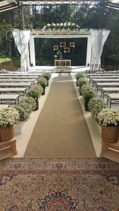 Wedding ceremony decorations church fun for 2019 Church Wedding Decorations Aisle, Wedding Church Aisle, Rustic Boho Wedding, Trendy Wedding, Wedding Set, Wedding Table, Popular Wedding Dresses, Outdoor Ceremony, Wedding Bouquets