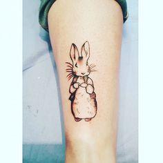 My little Peter Rabbit tattoo 🐰
