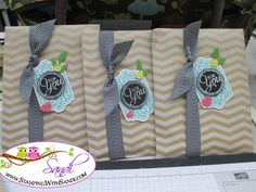 Chalk Talk Gift Bags by Sandi at www.stampingwithsandi.com