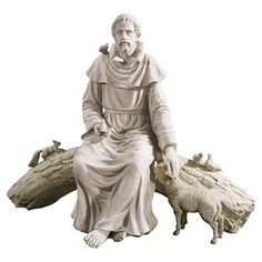 Found it at Wayfair - In Nature's Sanctuary St. Francis Garden Statue