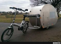 Pfingstausflug vorbei, bin wieder da. | Lustige Bilder, Sprüche, Witze, echt lustig Camper Repair, Car Camper, Campers, Cargo Bike, Diy Camping, Mobile Home, Caravans, Recreational Vehicles, Baby Strollers