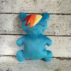 RAINBOW PONY STUFFIE