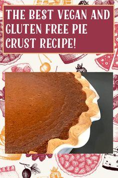 Raspberry Breakfast, Breakfast Pie, Gluten Free Pie Crust, Pie Crust Recipes, Pie Crust Dough, Vegan Whipped Cream, Kinds Of Pie, Perfect Pie Crust, Vegan Pumpkin Pie