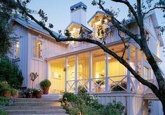 love the white porch