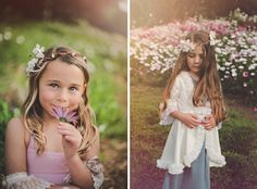 Flower girl inspiration / Tara Tomlinson Photography / Flower Crowns by Sweet Little Sparrow