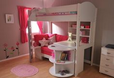 Creating the perfect loft beds for girls | LiRoom for Home Improvement Ideas
