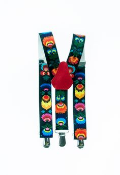 Folk suspenders. Made in Poland.