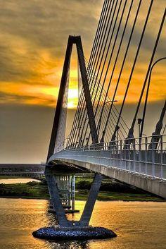 The Ravanel Bridge Charleston SC