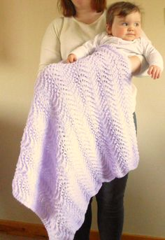 lavender Baby Blanker in Etsy shop on 06/04/2016 THIS ITEM IS NOW SOLD