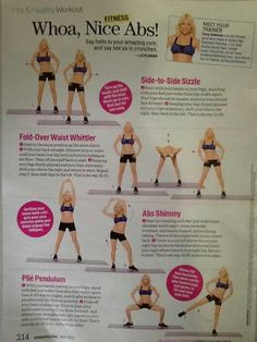 Tracy Anderson abb routine