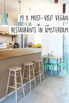 """There are a lot of vegan hotspots in Amsterdam. But where exactly? Check out the list inlcuding 19 vegan restaurants in Amsterdam on travel blog http://www.yourlittleblackbook.me. Planning a trip to Amsterdam? Check http://www.yourlittleblackbook.me/ & download """"The Amsterdam City Guide app"""" for Android & iOs with over 550 hotspots: https://itunes.apple.com/us/app/amsterdam-cityguide-yourlbb/id1066913884?mt=8 or https://play.google.com/store/apps/details?id=com.app.r3914JB"""