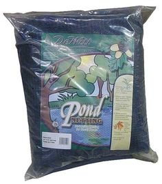 Dewitt PN302020 Deluxe Pond Protection Net, 20 Foot x 20 Foot. Variation: 20'X20'- Size. Deluxe Pond Netting is constructed with 1/4. mesh knitted strands that are bonded together. Helps keep leaves, debris, predators and children out of ponds. It is much stronger and more durable than the old 3/4-inches mesh net that this product replaces. It is also UV-treated for long life in the sun. It is much stronger and more durable than the old 3/4. mesh net that this product replaces!