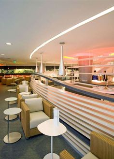 SkyTeam Exclusive Lounge, London Heathrow - Associated Press