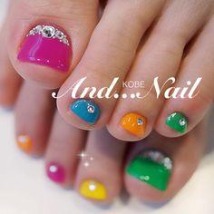 Toe Nail Art Cute Toe Nails, Sassy Nails, Love Nails, Pedicure Nail Art, Toe Nail Art, Nail Manicure, Gorgeous Nails, Pretty Nails, Pretty Toes
