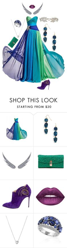 """""""My fave colours"""" by brooklynjadetoni ❤ liked on Polyvore featuring BaubleBar, Allurez, Dolce&Gabbana, Christian Louboutin, Links of London and Effy Jewelry"""