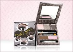 Caution: Contents are extremely HOT! ;) smokin' eyes kit has everything you need for that sexy, smoky look. #benefitcosmetics
