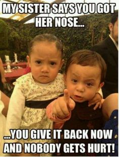 50 Funny Baby Pictures, Memes and Quotes funny babies baby funny quotes funny pictures baby pictures funny babies funny baby pictures cute funny baby pictures adult jokes Funny Shit, Funny Baby Memes, Haha Funny, Funny Babies, Funny Kids, Funny Cute, Funny Jokes, Baby Humor, Funny Stuff