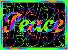 peaceful rainbow spin