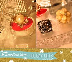 Statement rings for the fashionista | as seen on the Party Suite at Bellenza. Full post: http://www.bellenza.com/party-ideas/fabulous-finds-parties/holiday-gift-ideas-practical-purpose