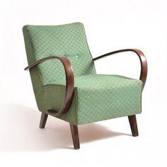Located using retrostart.com > Lounge Chair by Jindřich Halabala for UP Závody Brno
