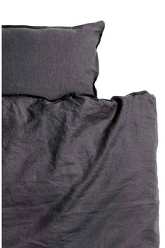 Linen duvet cover set | H&M
