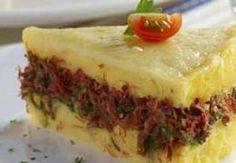 Miniatura do Polenta ao Forno com Carne Seca