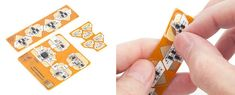 Circuit Stickers, Electronic Stickers That Combine to Build Circuits