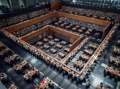 """Study Hall - the National Library of China,"" via Imgur"