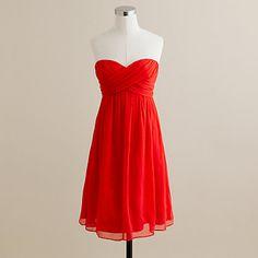 red bridesmaid dresses @Kyler Faust