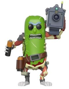 From Rick and morty, Pickle Rick with laser, as a stylized pop vinyl from Funko! Stylized collectable stands 3 ¾ inches tall, perfect for any Rick and morty fan! Collect and display all Rick and morty pop! Funko Pop Figures, Pop Vinyl Figures, Rick And Morty Characters, Pop Characters, Pop Figurine, Rick Y, Funko Pop Vinyl, Pop Culture, Action Figures
