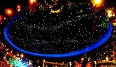 Rainforest Cafe Star Ceiling Installed by FOSI (Fiber Optic Systems Inc.) I want this in my house Rainforest Cafe, Star Ceiling, Our Wedding, Banana, Fiber Optic, Stars, Image, House, Rooms