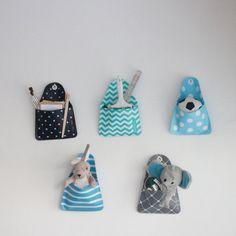 Kids organizer toy storage, wall storage pocket, Kids&baby room decor   single pocket   All colors   6 different patterns   SALE